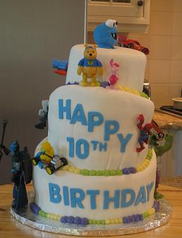 10th birthday cake image
