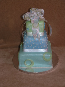 fondant custom cake image