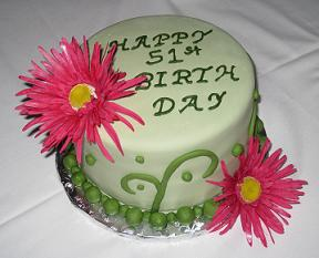 51st Birthday Cake Image