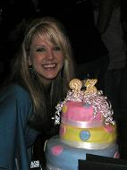 birthday girl cake image
