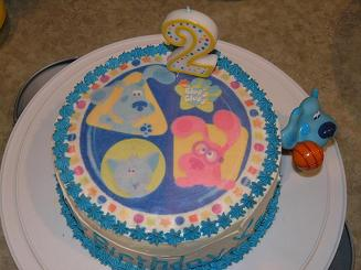 blues clues cake image