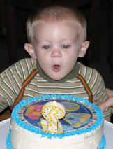 blues clues cake and boy image