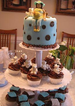 baby shower cup cakes image