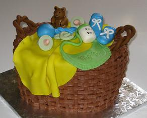 basket cake image