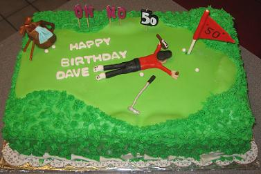 cakes for golfers image