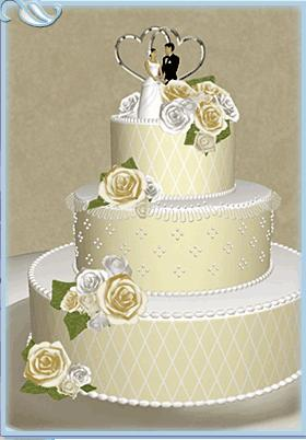 Wedding Cake Designs Romantic Decoration