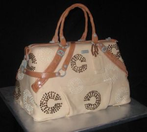 coach purse cake image