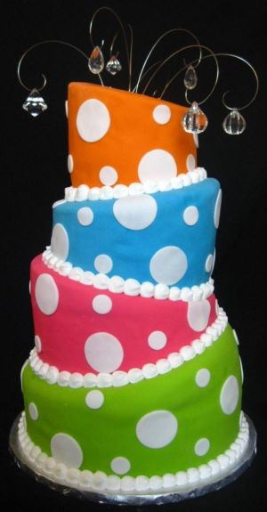 colorful cakes image