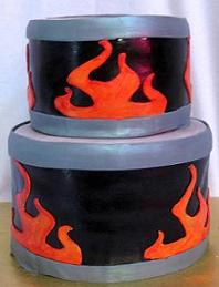 drum cake image