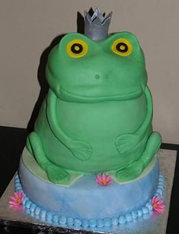 frog prince cake image