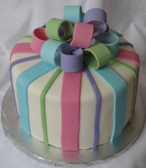 gender reveal cakes image