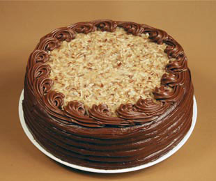 german chocolate cake image