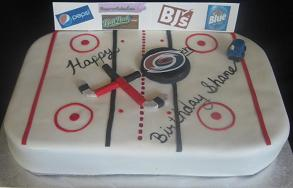 hockey cake image
