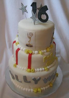 hollywood cake image