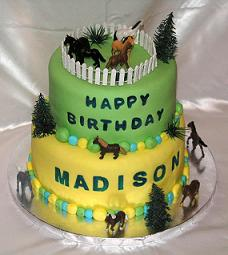 horse theme cake image
