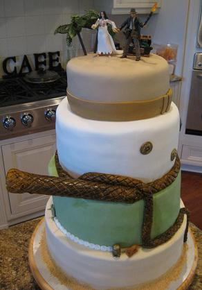 indiana jones cake image