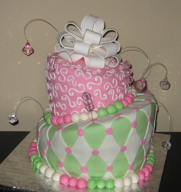 Gina M. from Wilmington ordered this 18th birthday cake for her sister ...