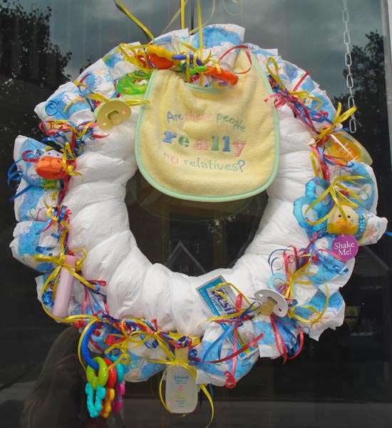 large baby diaper wreath jpg