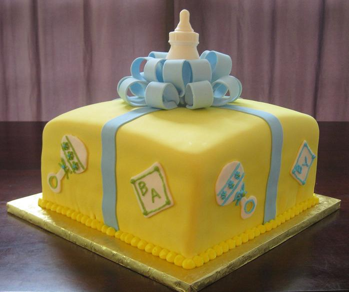 baby shower cakes pictures and ideas, Baby shower