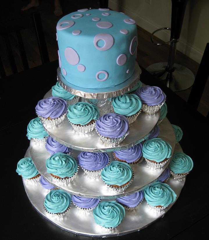 Cake Designs Using Cupcakes : Cupcake Wedding Cakes Pictures and Ideas