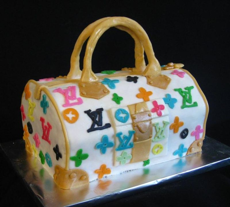 Purse Cake Pictures And Ideas - Purse birthday cake ideas