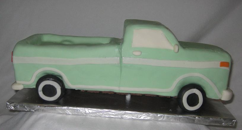Truck Cake Pictures And Ideas