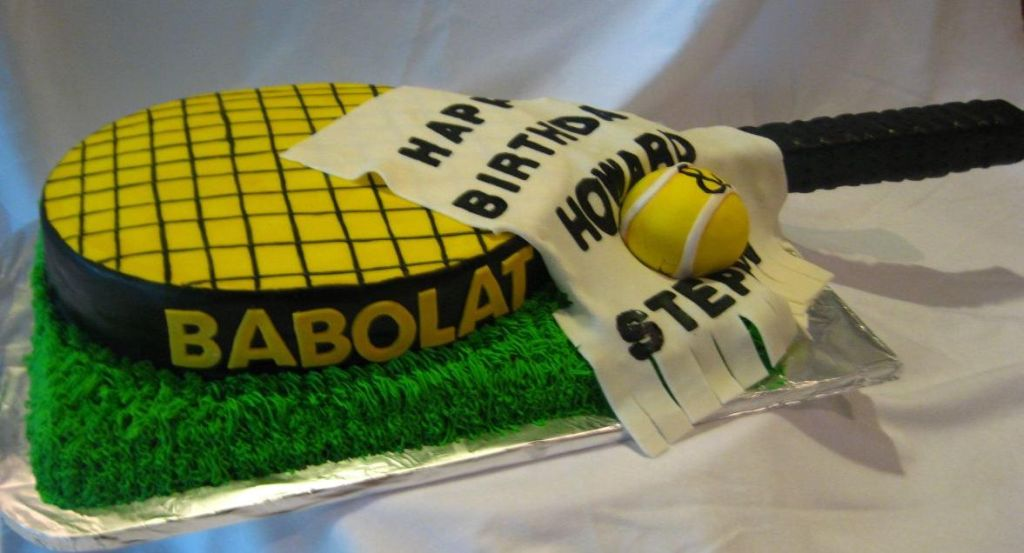 tennis sports cake image. u201d & Sports Cakes Pictures Ideas and Designs Raleigh Area