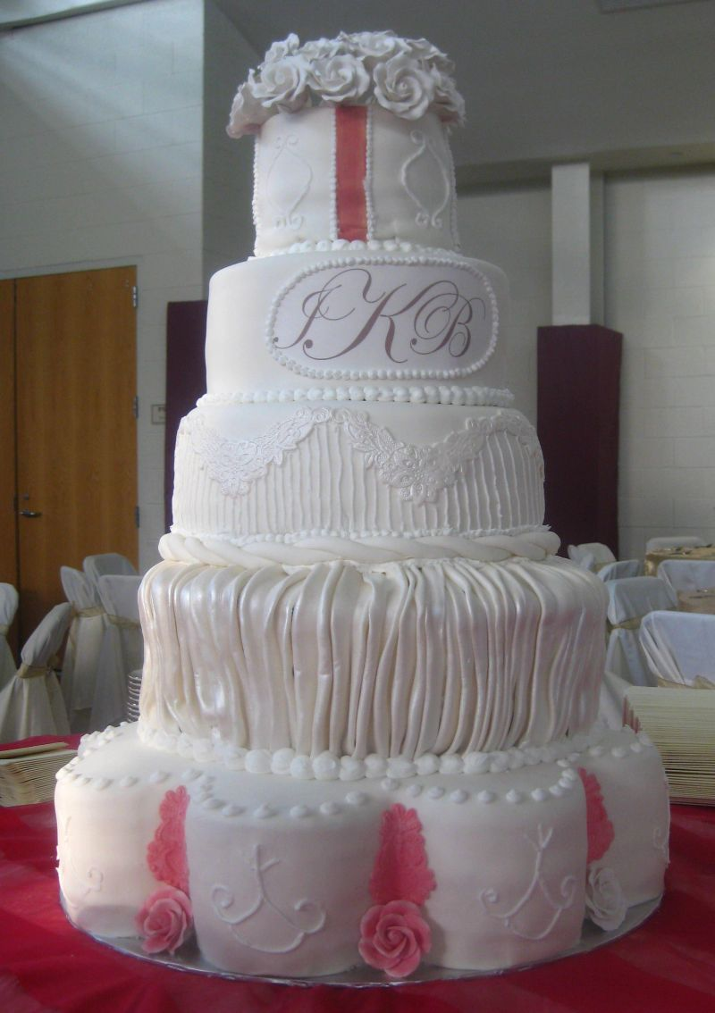 Wedding Cake Design Patterns : Wedding Cake Designs Custom Unique