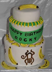monkey cake image