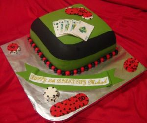 poker cake image