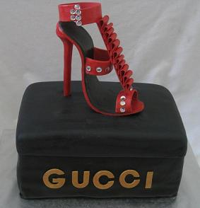 shoe cake image