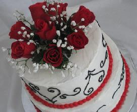 small wedding cakes image