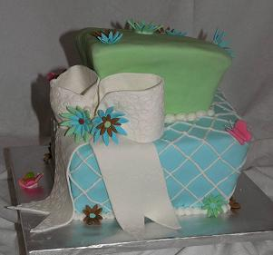 square madhatter cake image