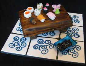 sushi cake image