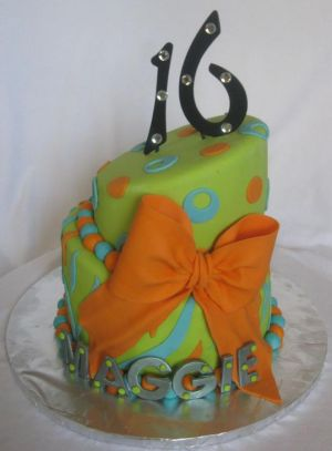 sweet 16 cake ideas image