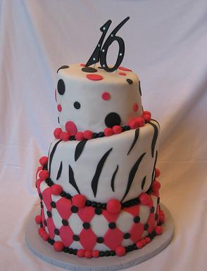 sweet sixteen birthday cakes image
