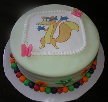 swiper cake image
