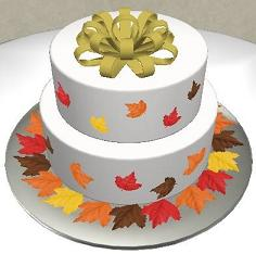 Fall-cake-design image
