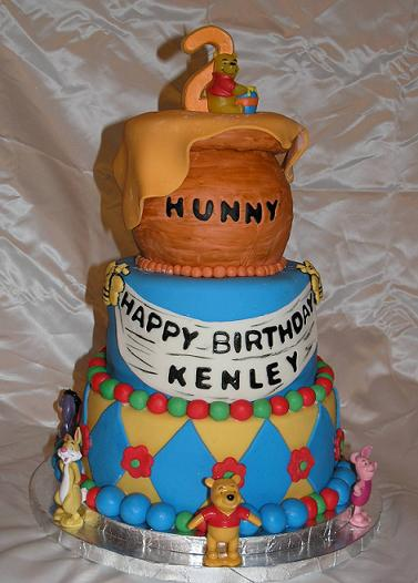 Birthday Cake Design Ideas Winnie The Pooh Image
