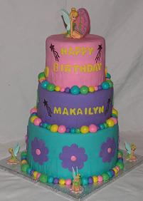 Tinkerbell cake image