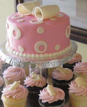 baby shower cupcake toppers image