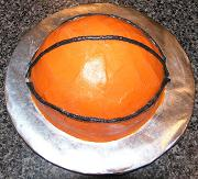 basketball cake image
