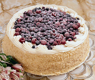 blueberry cake image