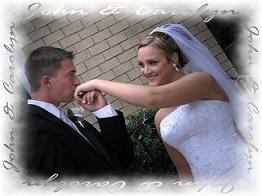 bride and groom image