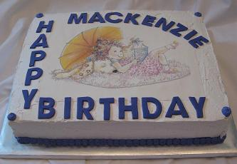 fancy nancy cake image