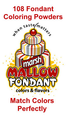 fondant color powder image