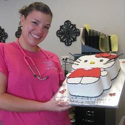 hello kitty birthday cake image