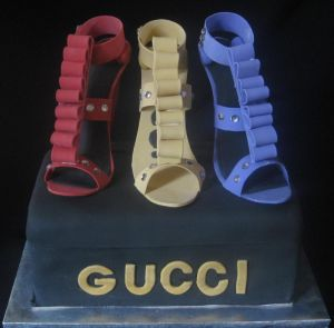 shoes cake image