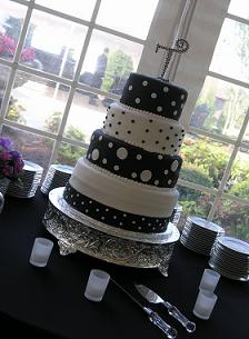 unique wedding cake image